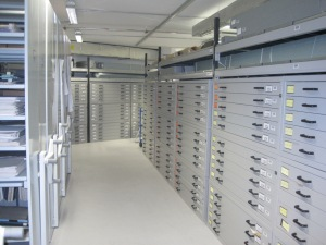 A peek inside the Kent History and Library Centre main archive