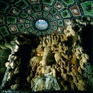 Inside the underground Grotto at Leeds Castle. Image copyright belongs to Leeds Castle Enterprises Ltd