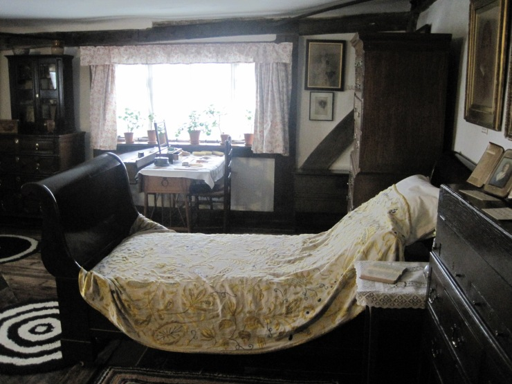 History Snap: Dame Ellen Terry's Bedroom, Smallhythe Place, Kent