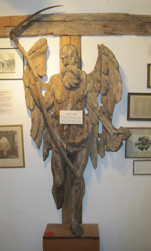 Old Father Time at Cranbrook Museum. Image ©Rachael Hale 2011
