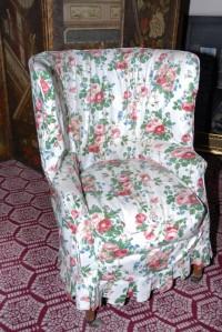 Queen Victoria's Armchair - Walmer Castle - ©Amanda Bryant 2013