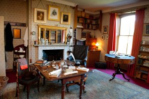 Darwin's Study, Down House.©English Heritage
