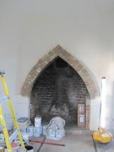 Restored fireplace. ©Rachael Hale aka History Magpie 2013