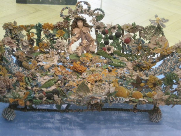 17th Century Beaded Christening Basket  Image ©Rachael Hale - History Magpie