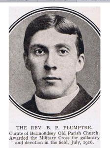 Rev'd Plumptre Image supplied by Matt Ball.