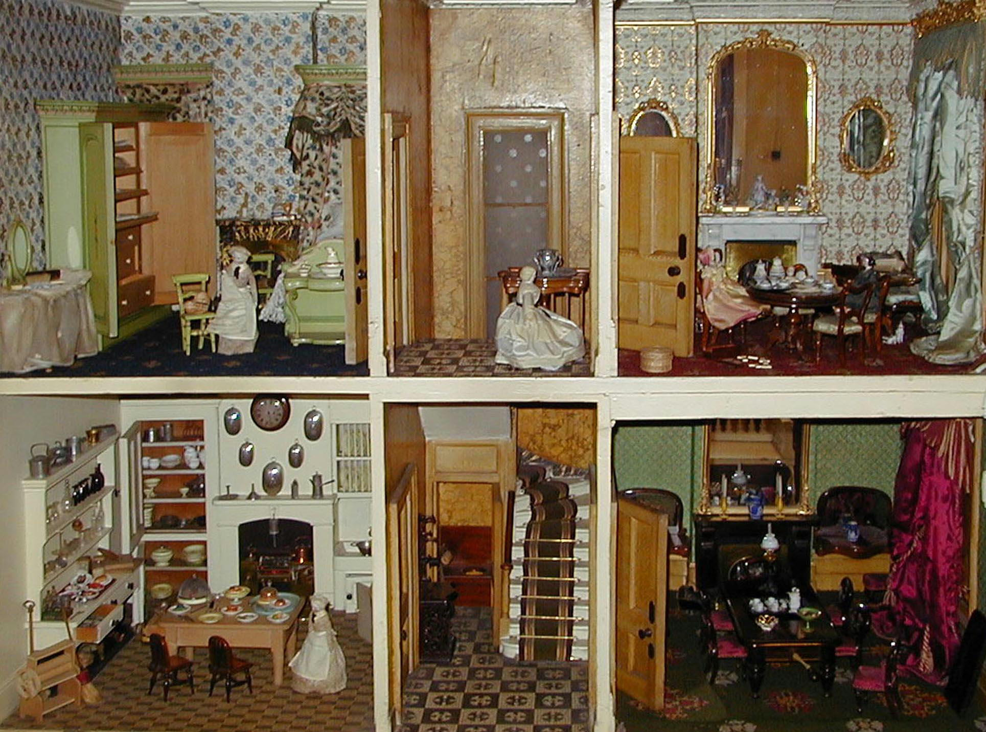 A 19th Century Dolls House Designed To Dazzle Tunbridge Wells Museum Kent