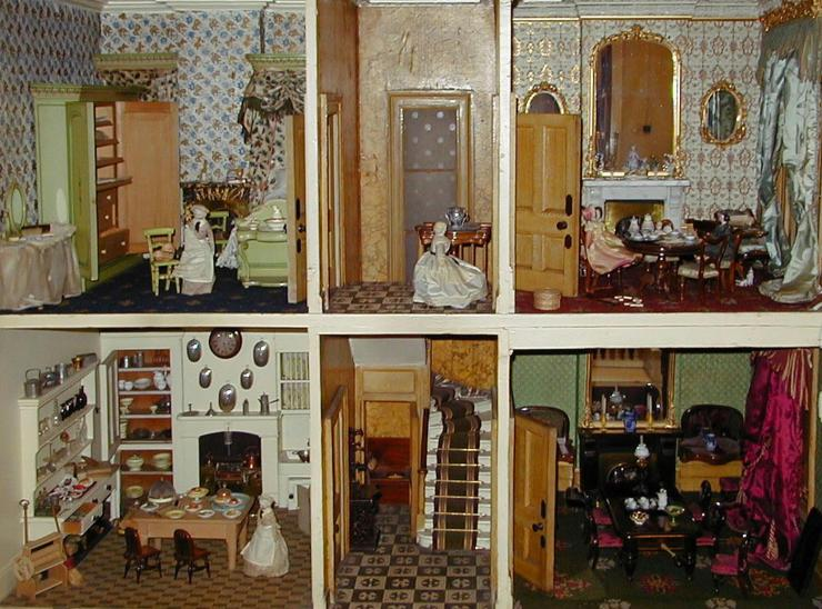 The Rigg Dolls' House -Image copyright held by the Tunbridge Wells Museum