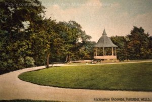 Bandstand image supplied by Tunbridge Wells Museum