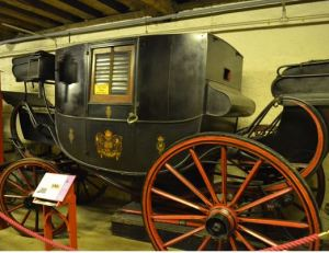 The 12th Earl of Moray's 19th Century Coach. Image ©Rachael Hale (The History Magpie)