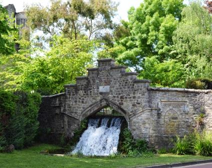 'The Cascade' - a Georgian Waterfall in West Malling, Kent Image ©Rachael Hale (The History Magpie) 2014