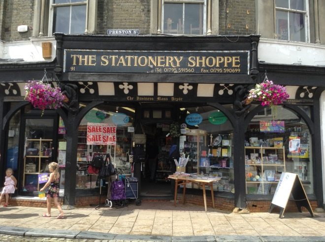 The Stationery Shoppe Image ©Rachael Hale (The History Magpie) 2014