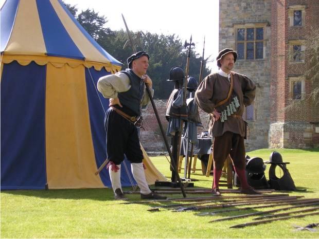 The militia at Penshurst Place