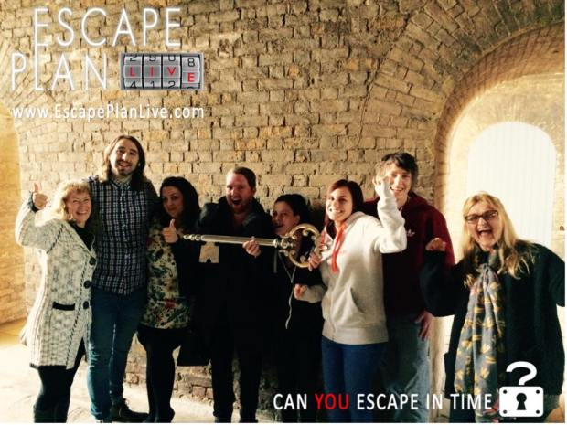 They escaped! Fort Amherst