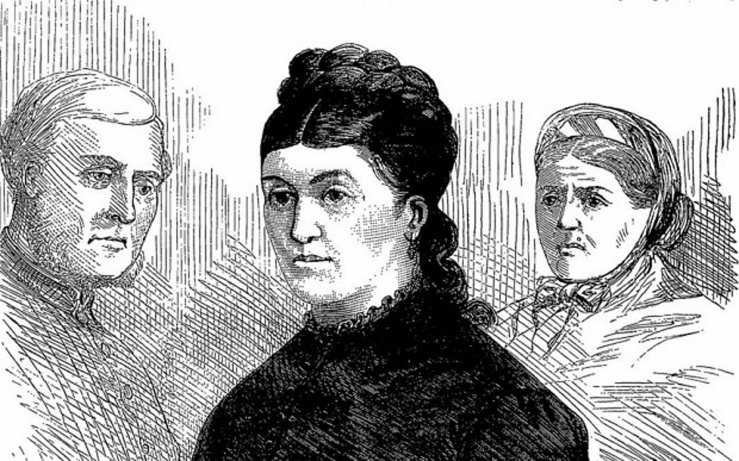 Christiana Edmunds in the Dock