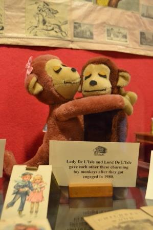 Monkeys at The Toy Museum, Penshurst Image Rachael Hale