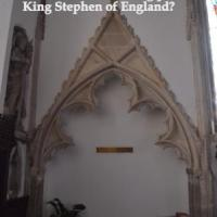 Is this the final resting place of King Stephen of England?