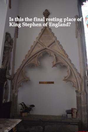 King Stephen of England's Tomb Image Rachael Hale