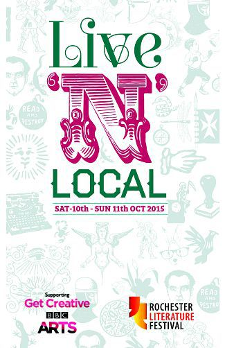 Poster for Rochester Litfest 2015