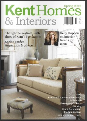 Kent Homes & Interiors Spring 2016 Cover