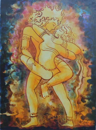 Khajuraho by Charles Newington