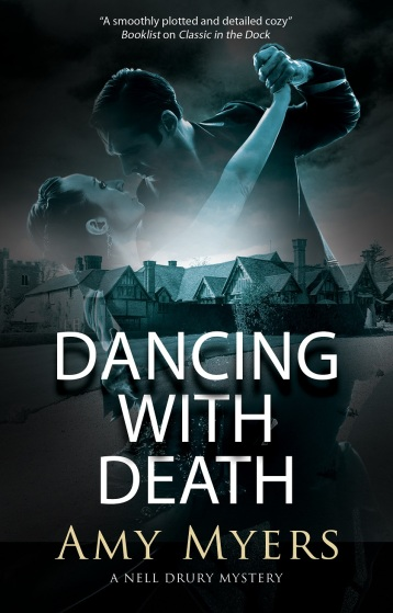 Dancing with Death by Amy Myers book cover