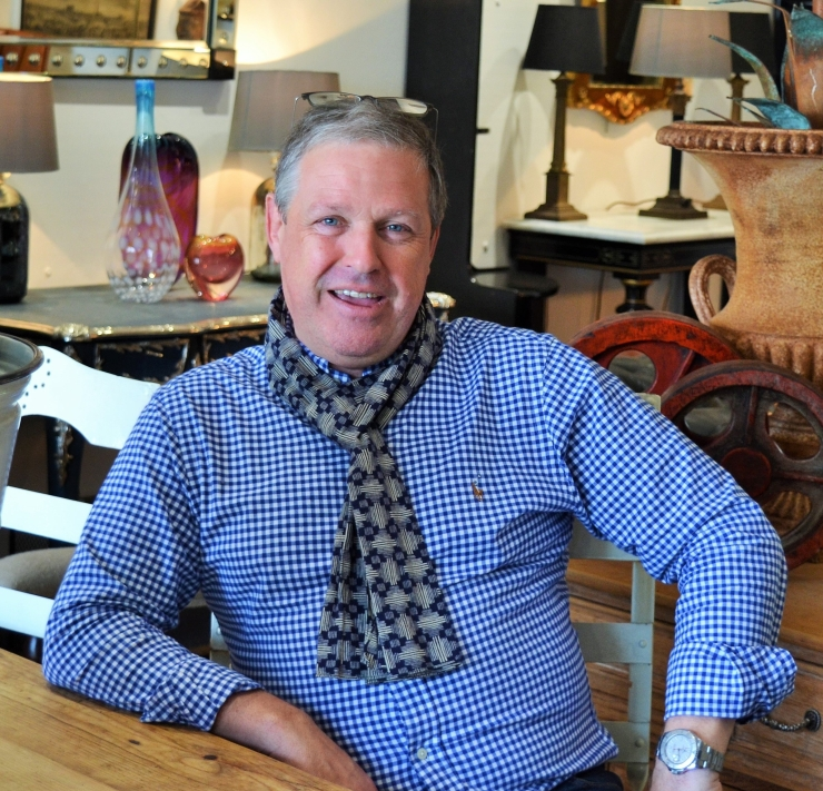 Mark Lock of Marchand Antiques reveals 'What is an antique and what do you need to know?' Image copyright Rachael Hale