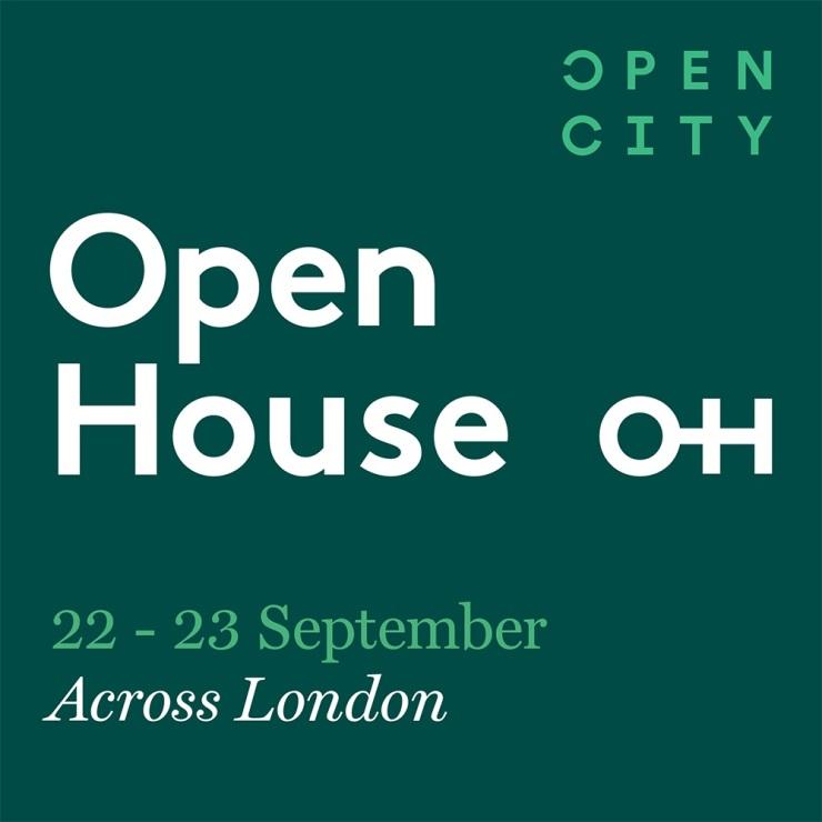 Open House London - 22-23 September 2018